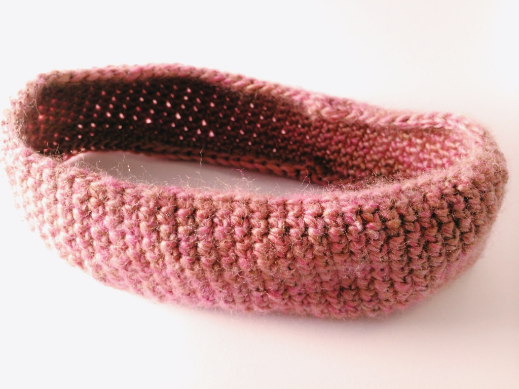 Pink Pearl Headband | Yarn, Things, Etc.