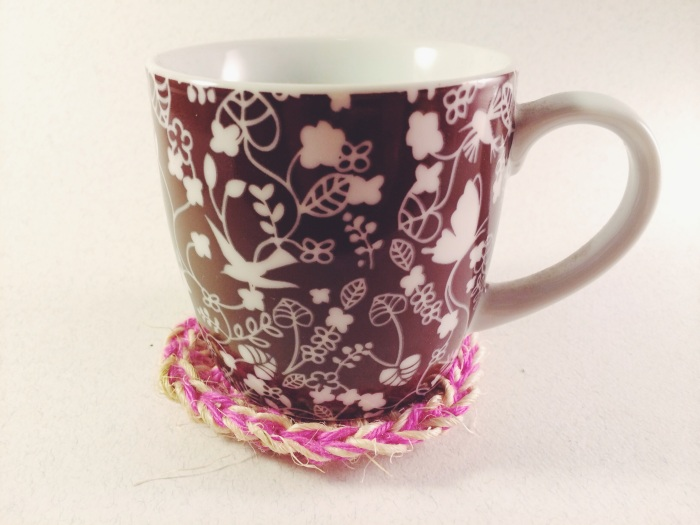 Crochet Twine Coaster | Yarn, Things, Etc.