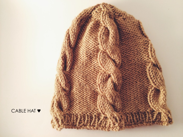 Cable Hat | Yarn, Things, Etc.