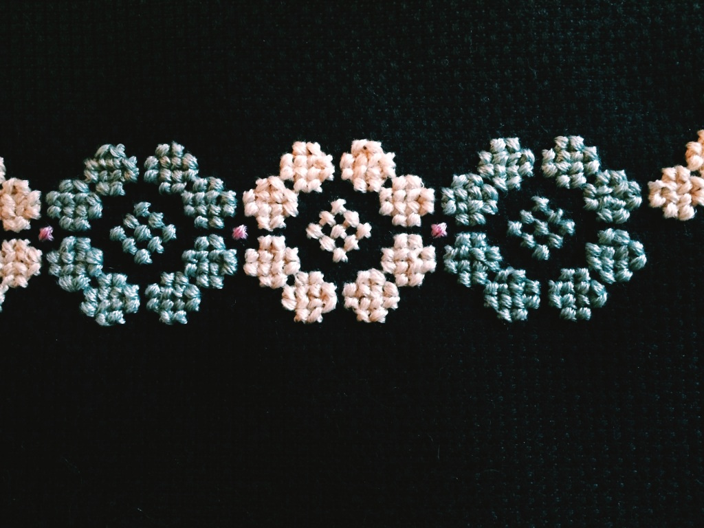 Yarn, Things, Etc. | Spring Flowers Cross-Stitch