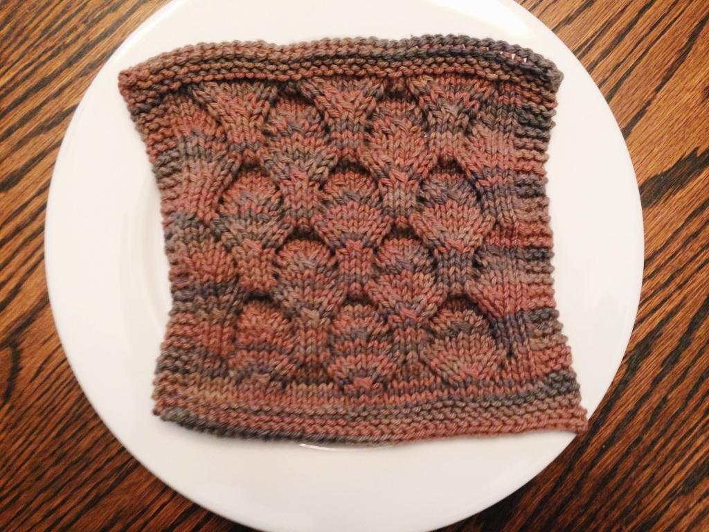 Leafy Dish Cloth | Yarn, Things, Etc.