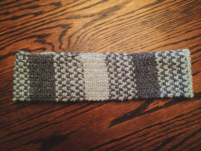 Grey & Mint Headband | Yarn, Things, Etc.