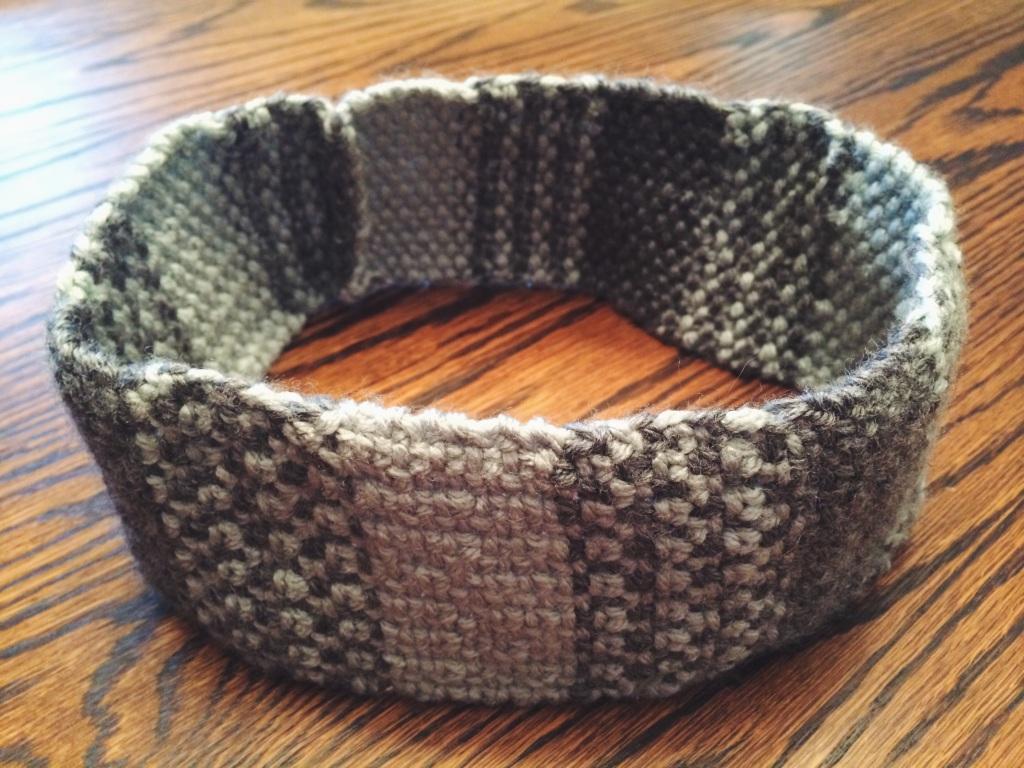 Grey & Mint Headband | Yarn, Things, Etc.