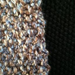 Seed Stitch Cowls