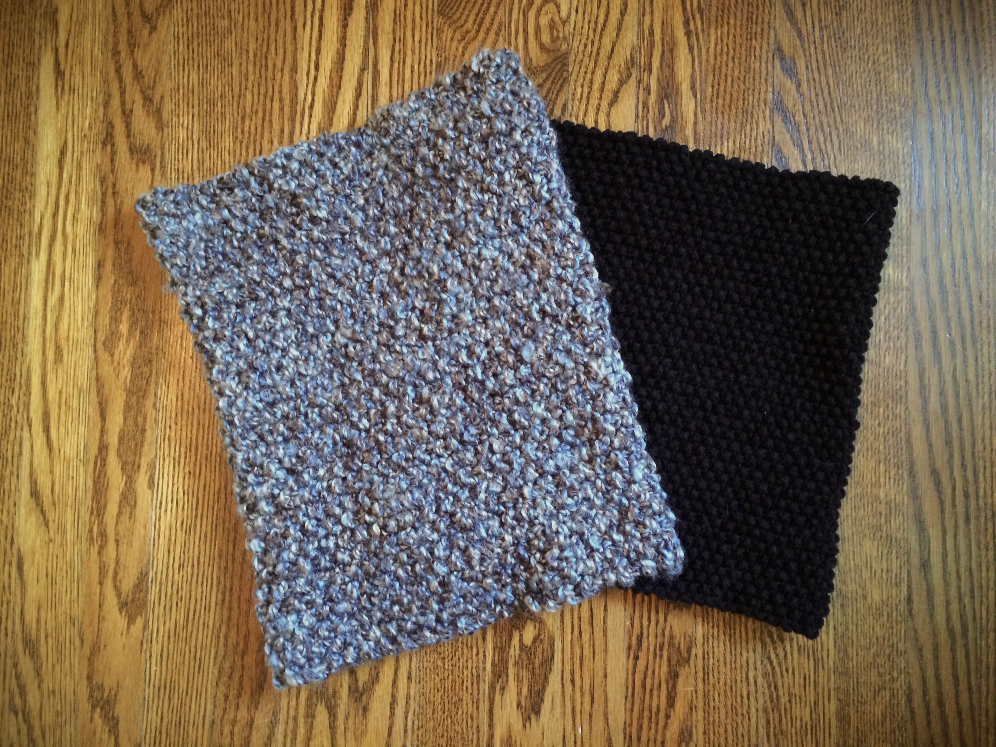 Knitting Seed Stitch Variations : Knit: Seed Stitch Cowls   Yarn, Things, Etc.