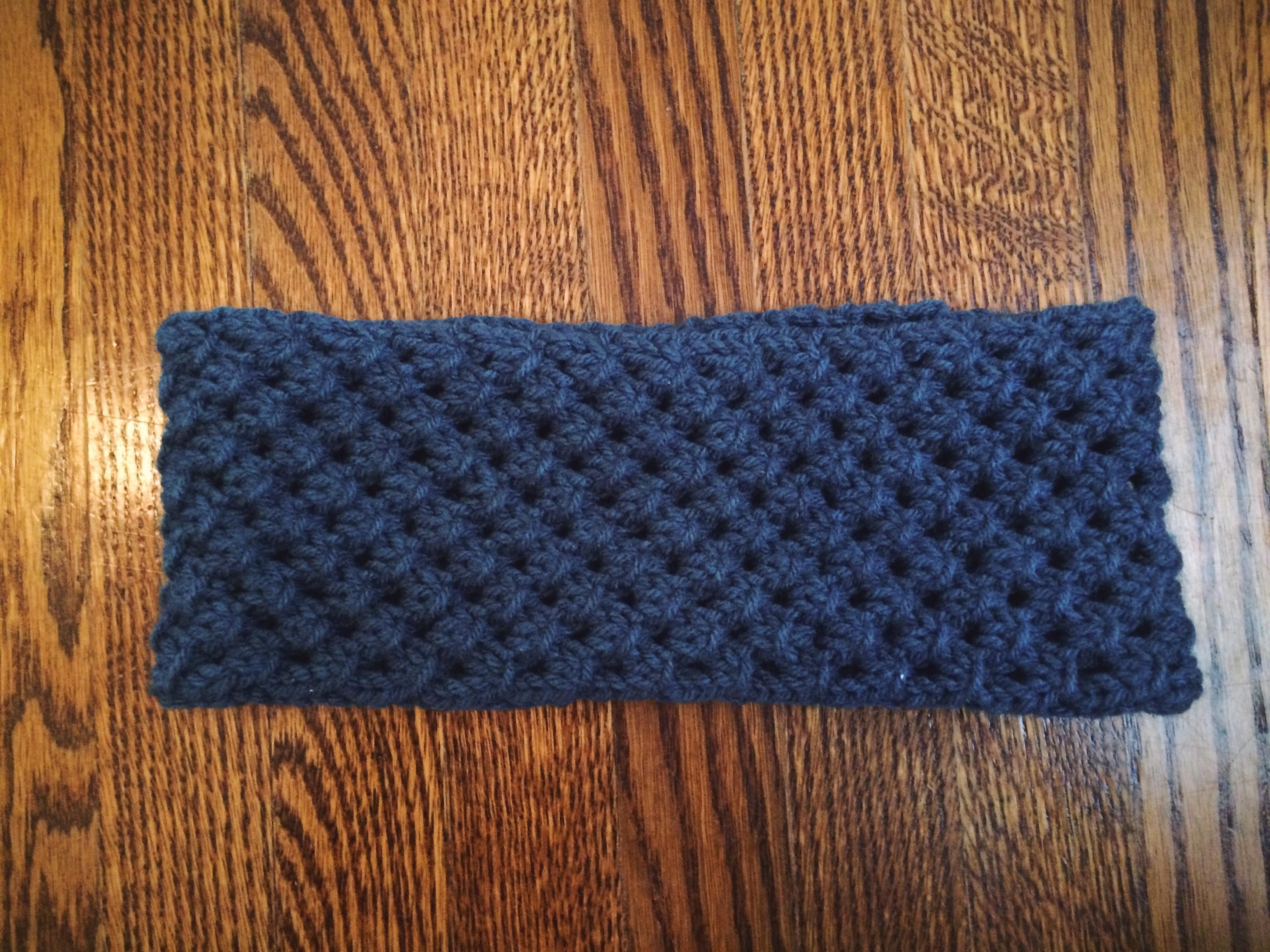 Knit Star Stitch Headband Yarn Things Etc