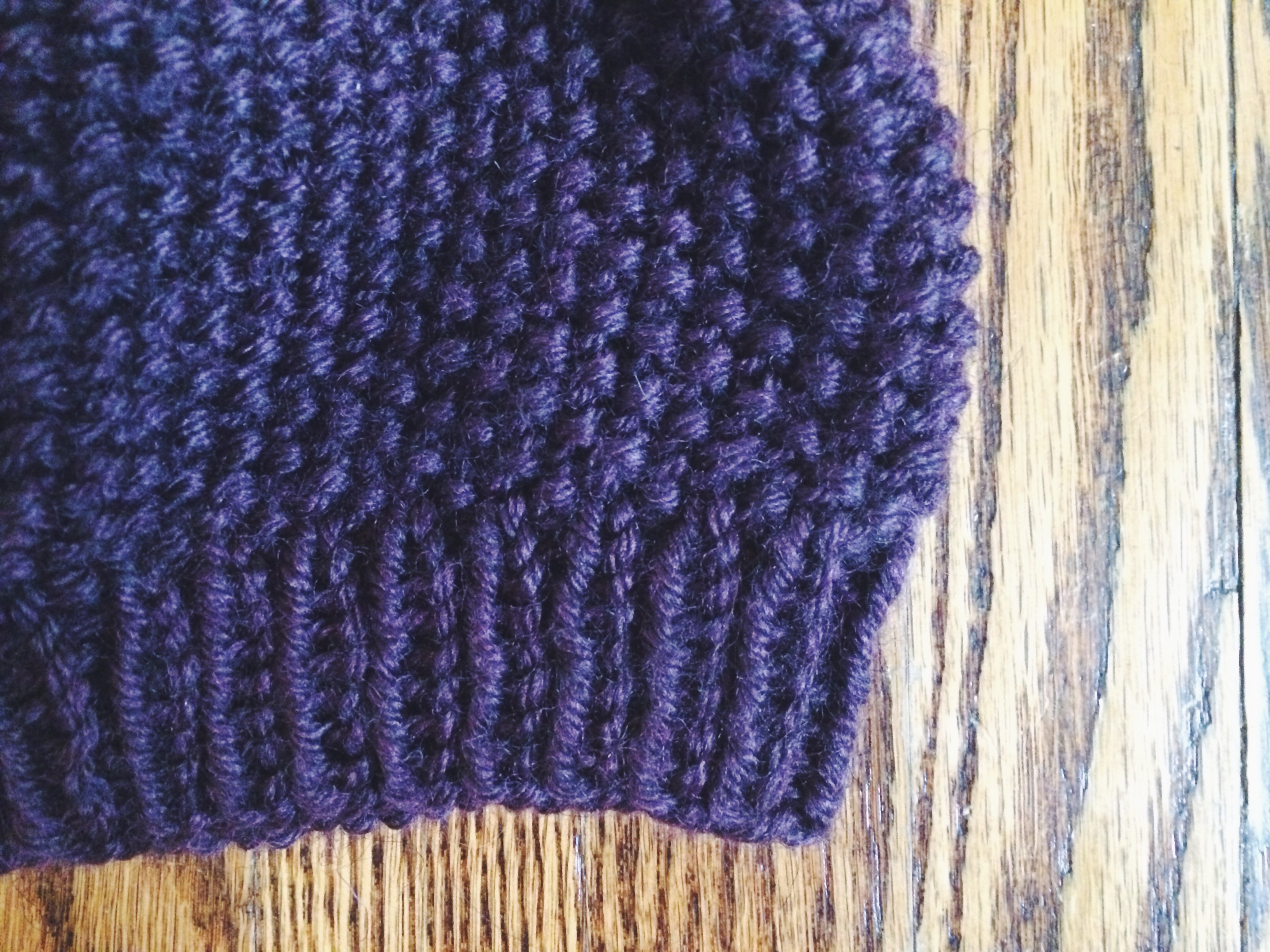 Knitting Seed Stitch Decrease : Knit: Mix Beanie Yarn, Things, Etc.