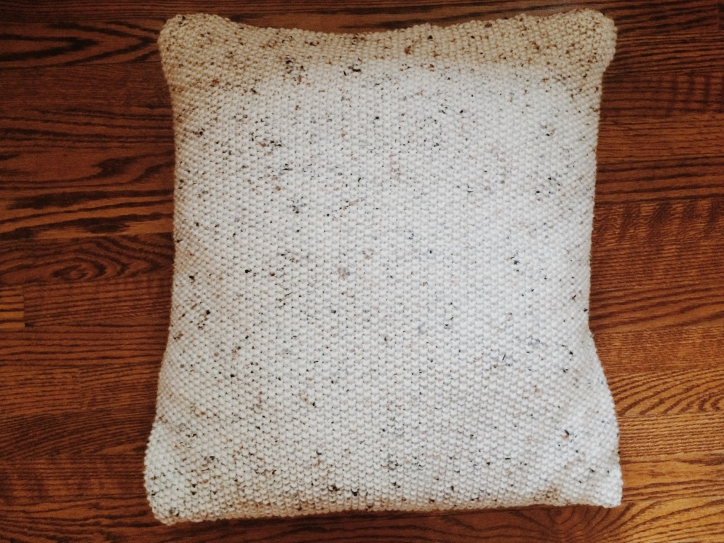 Seed Stitch Pillow | Yarn, Things, Etc.